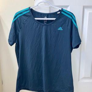 Adidas Short Sleeve Climacool Workout top/T-shirt